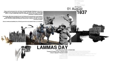 Lammas Day Collage